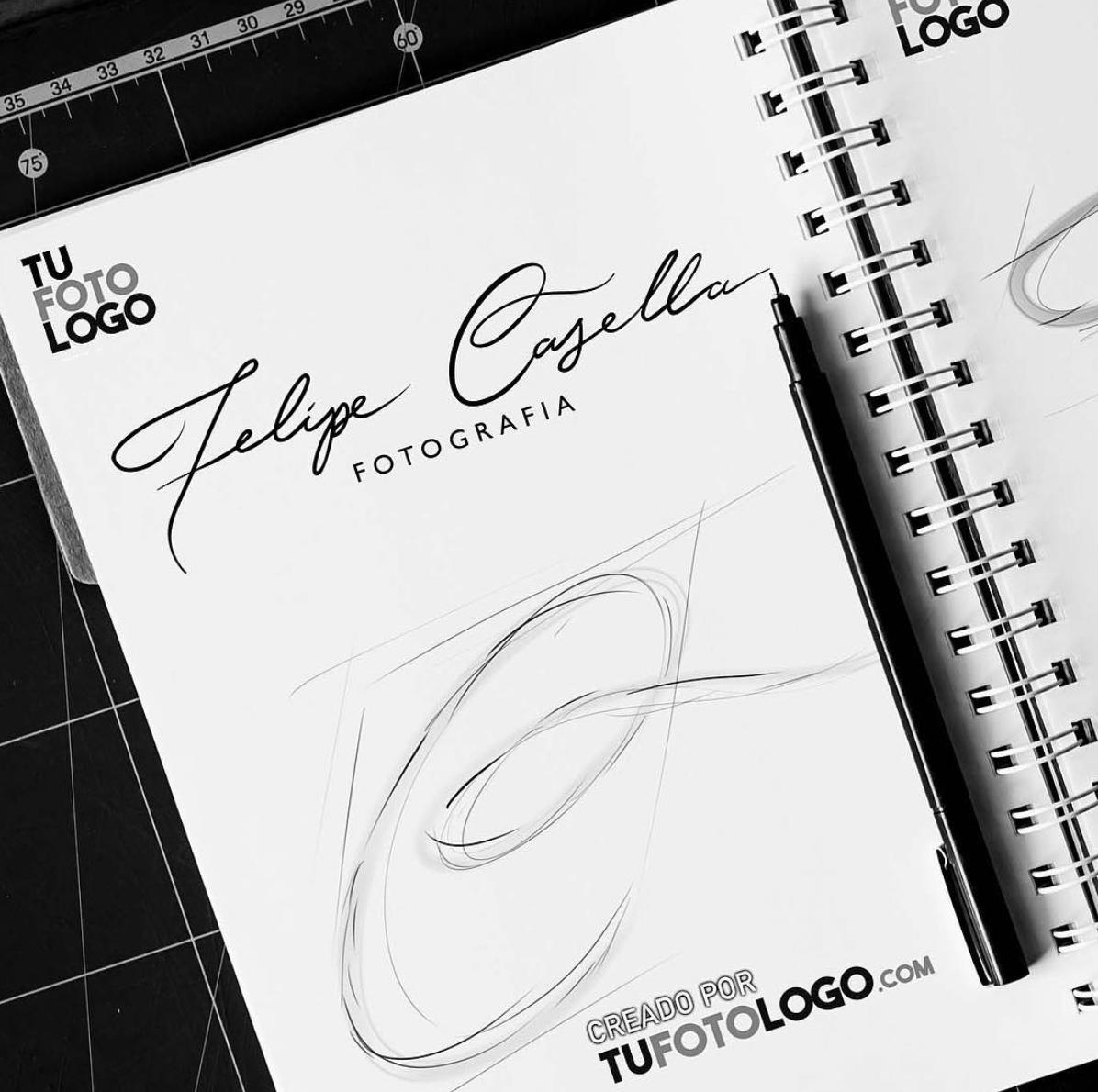 Creamos la firma de Felipe Casella