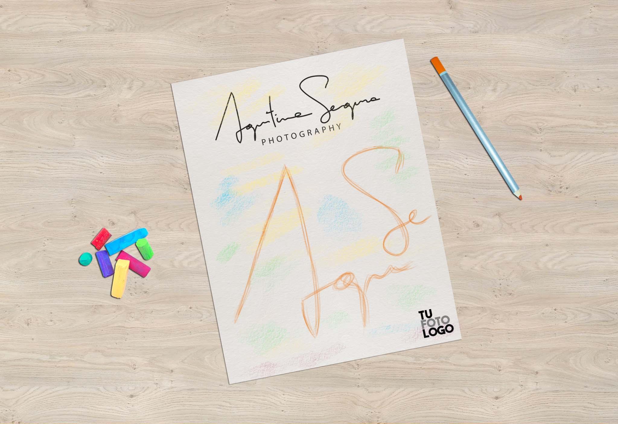 Un nuevo logo para Agustina