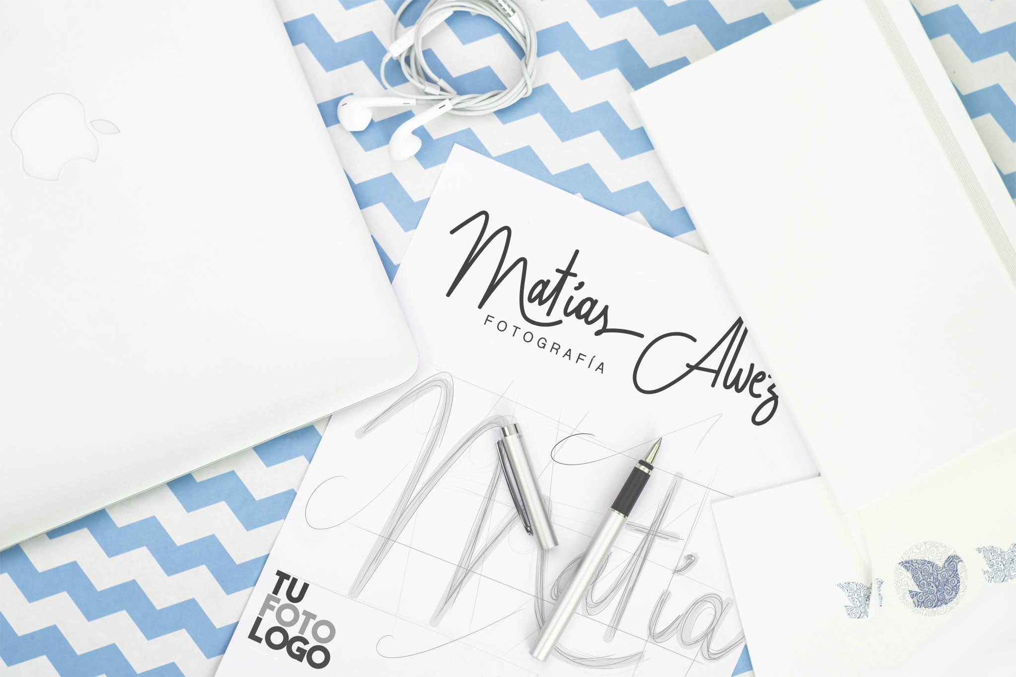 Creamos el logo de Matías Alvez