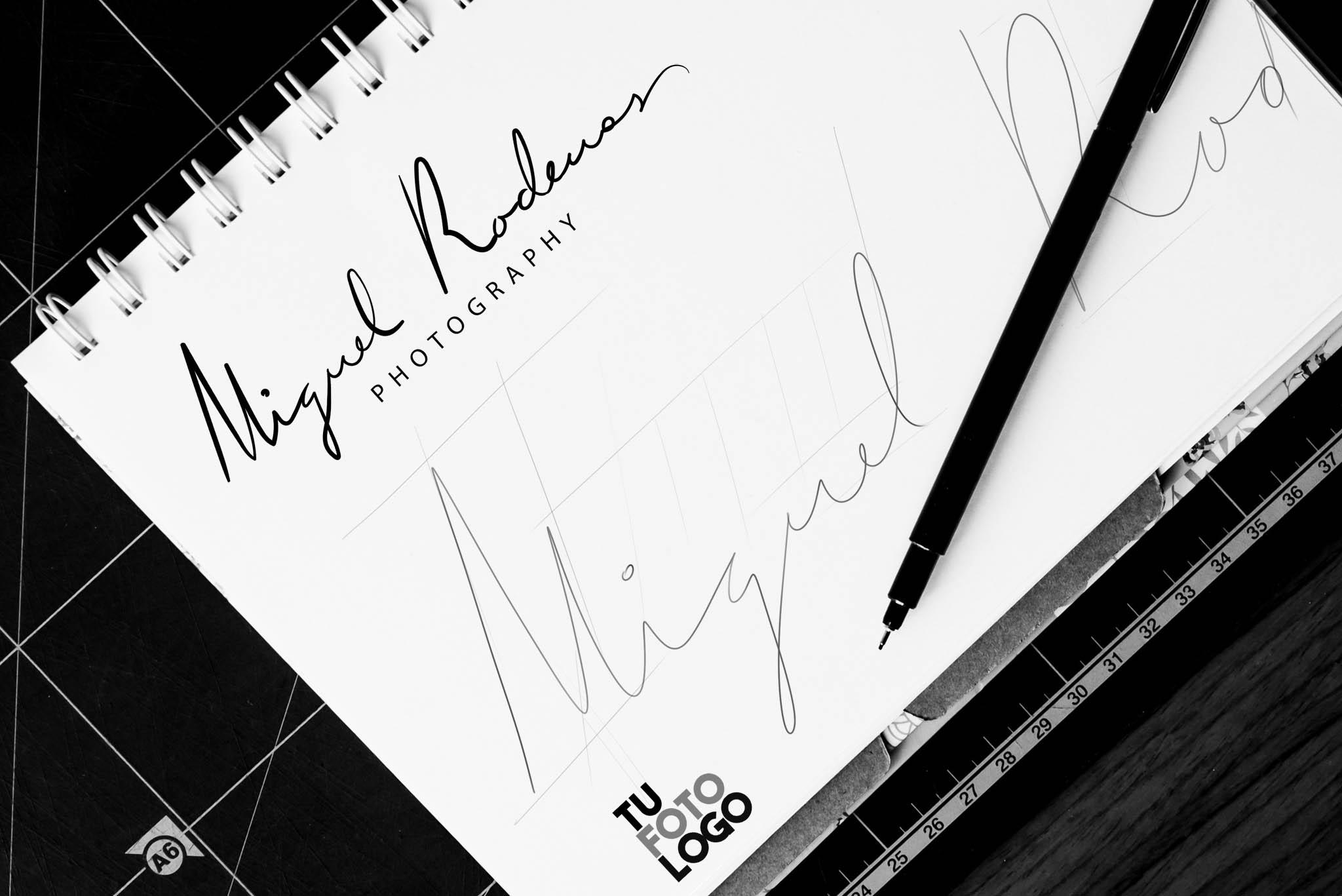 El logo que acompañará a Miguel!