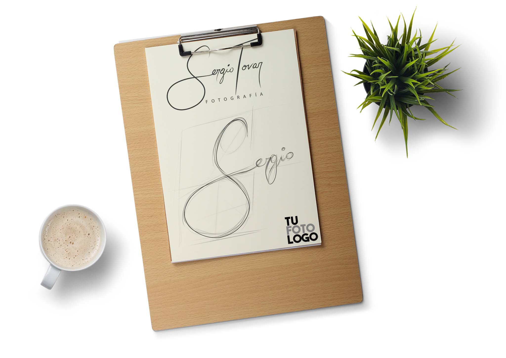 Creamos un logo para Sergio Tovar